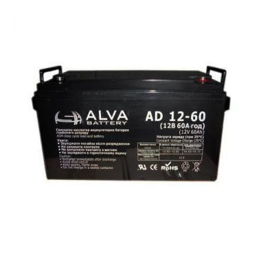 Аккумуляторная батарея AD12-60