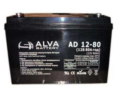 Аккумуляторная батарея AD12-80