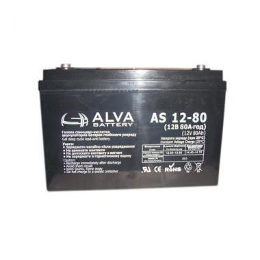 Аккумуляторная батарея AS12-80