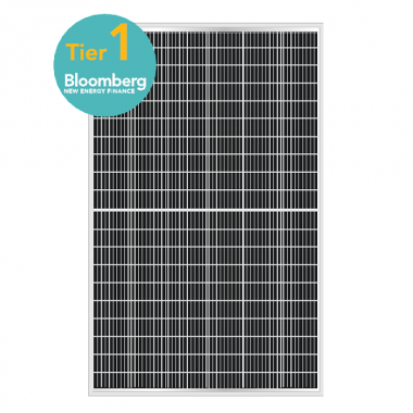 Солнечный фотоэлектрический модуль ABi-Solar AB370-72MHC, 370 Wp, Mono