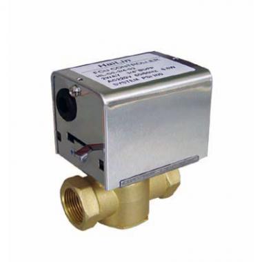 Клапан 2-х зонный с приводом 220В HL-G2-1-2-S2 1/2