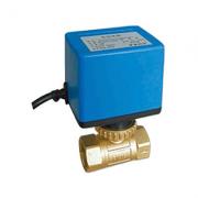 Клапан 2-х зонный шаровый с приводом 220В BV03G2D15SAV220 1/2