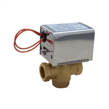 Клапан 3-х зонный с приводом 220В HL-G3-1-2-S2 1/2