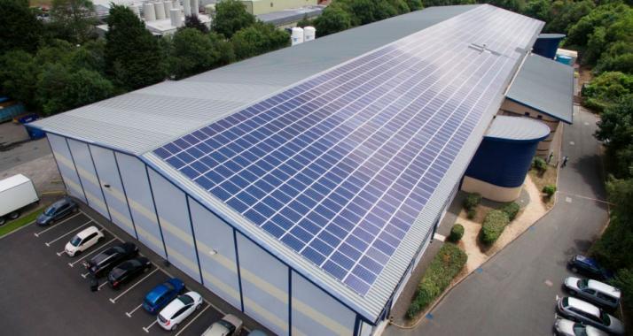 Солнечная электростанция для предприятий и магазинов